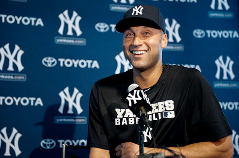 derek jeter mansion photos. Sure, Derek Jeter may have a