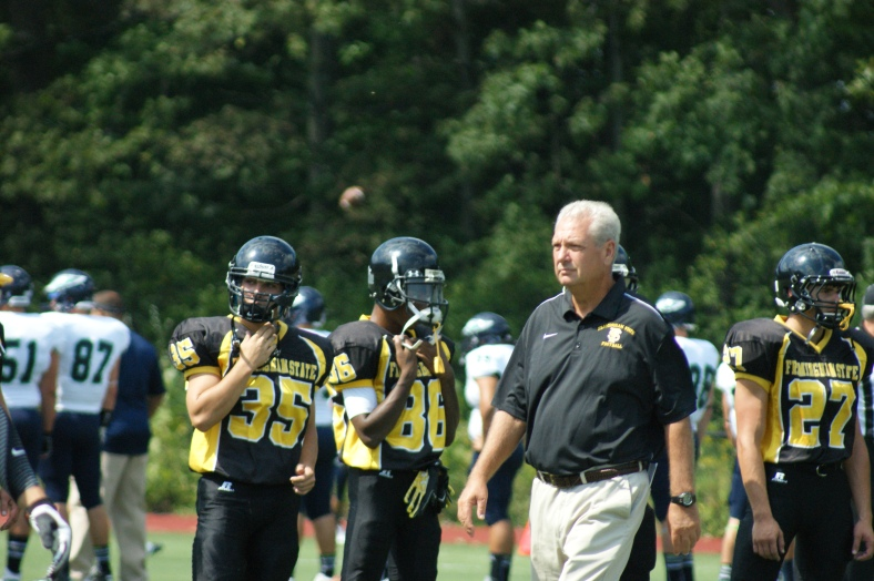 Coach Tom Kelley will begin his seventh season with the Rams on Saturday!  (Photo Credit: Matt Noonan for NoontimeSports.com)