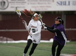 Cori Murray recorded her 100th point in an UMass uniform on Saturday! (Photo Credit: MassLive.com)