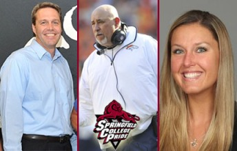 Three Springfield College alums will be representing the Pride on Sunday at Super Bowl XLVIII. (Photo Credit: Springfield College Athletics)