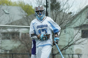 Tufts' Chris Schoenhut is fourth on the squad in points (79). He'll be one of many players to watch against Emmanuel College on Wednesday. (Photo Credit: Matt Noonan for NoontimeSports.com)