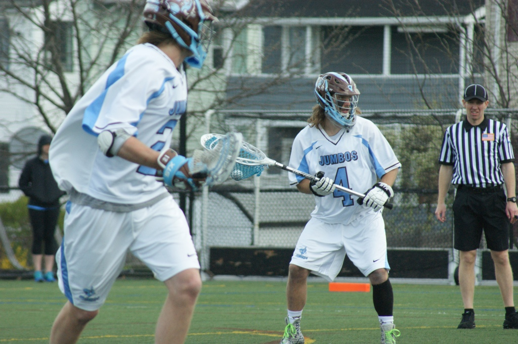 Tufts' Patton Watkins and the Jumbos will return to Bello Field on Wednesday for their NCAA Div. III Quarterfinal contest against SUNY Cortland. (Photo Credit: Matt Noonan for NoontimeSports.com)