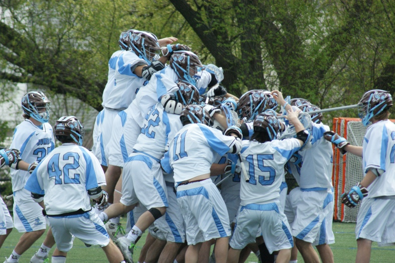 Tufts' men's lacrosse team advanced to its third NCAA Tournament Championship next weekend with a 21-11 semifinal victory over RIT this afternoon! (Photo Credit: Matt Noonan for NoontimeSports.com)