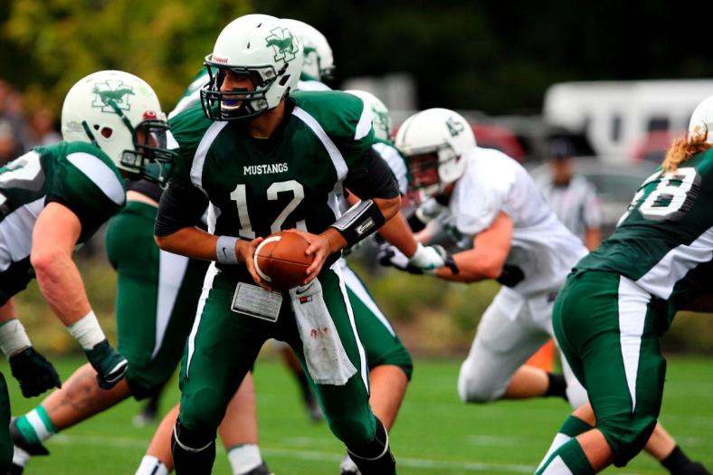 Mount Ida College football alum Jawad Yatim signed a contract to play with the Cedar Rapids Titans on Tuesday. (Photo Credit: Mount Ida College Athletics)