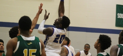Becker's Samuel Durodola recorded his 10th double-double of the season this past week. (Photo Credit: Becker College Athletics)