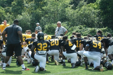 Framingham State Football head coach Tom Kelley says the Rams have started a new era. (Photo Credit: Matt Noonan/NoontimeSports.com)